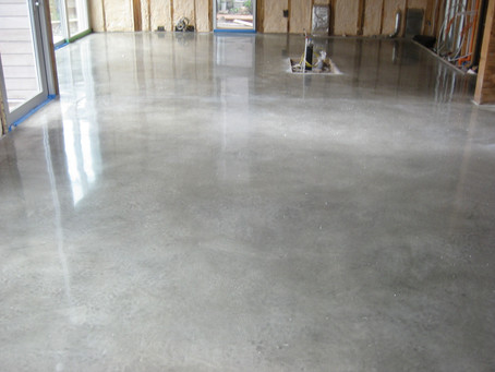 Polished concrete, a popular, timeless floor
