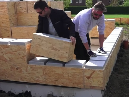 These Giant LEGO-like Building Blocks Let You Build Your Own Livable House
