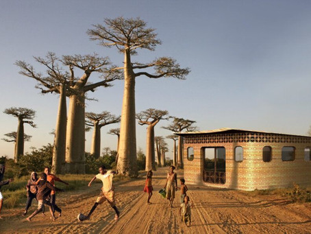 Thinking Huts and Studio Mortazavi plan a 3D-printed school in Madagascar
