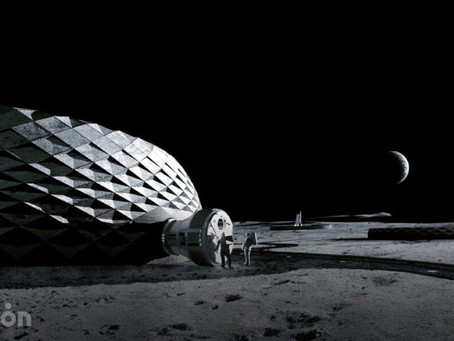 BIG unveils sustainable, 3D-printed lunar igloos for Moon exploration