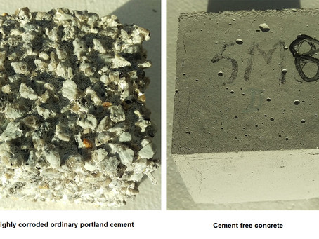 Cement-free concrete beats corrosion and gives fatbergs the flush