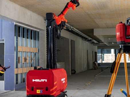 Hilti unveils BIM-enabled construction robot for mobile ceiling work