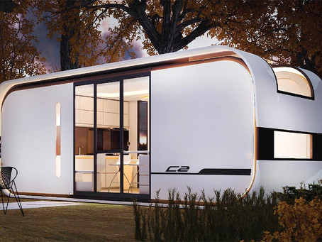 This AI enabled Tiny Home increases the usable area by 15% compared to a traditional house