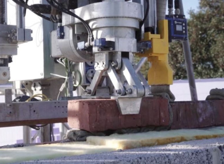 UK's first home built by robot bricklayer