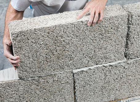 """Hempcrete,"" is showing promise as an environmentally friendly building material"