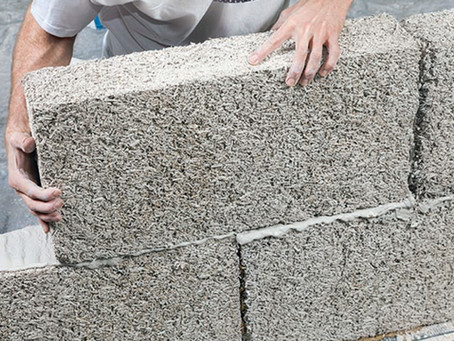 """""""Hempcrete,"""" is showing promise as an environmentally friendly building material"""