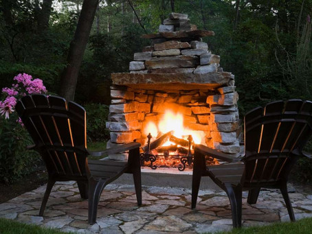 Create Backyard Magic with These Outdoor Fireplace Ideas