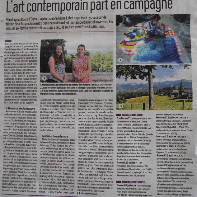 République des Pyrénées Karine Roby Rapprochement #2