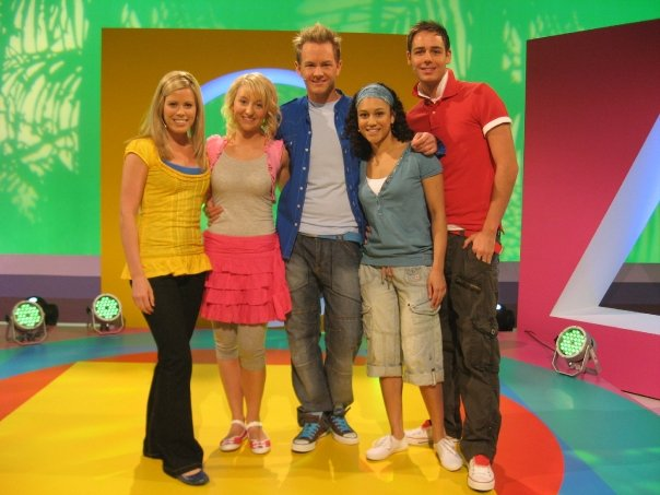 Filming 'Hi-5' at Pinewood Studios