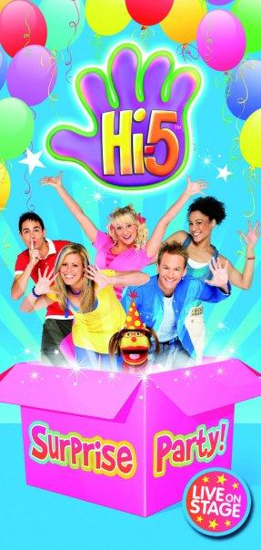 'Hi-5' Tour Poster