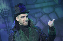 As Fleshcreep in 'Jack and the Beanstalk'