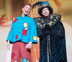 As Aladdin with Philip Martin Brown