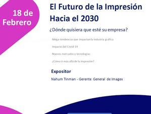 Webinar: El futuro de la impresión hacia el 2030