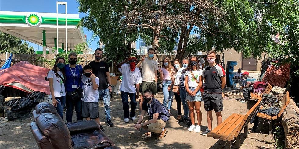 September Homeless Outreach- community