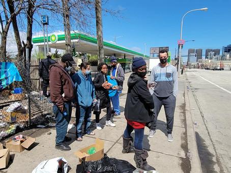 2021 April Homeless Event