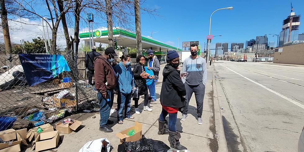 April Homeless Event