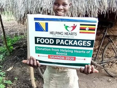 Uganda donations 2020