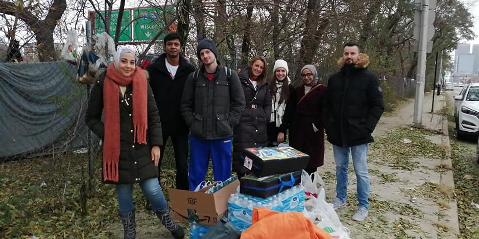 December Homeless Outreach