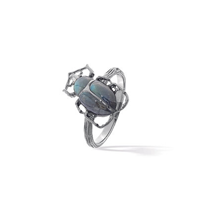 scarab insect ring