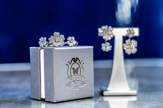 White Cherry Blossom Gift Box