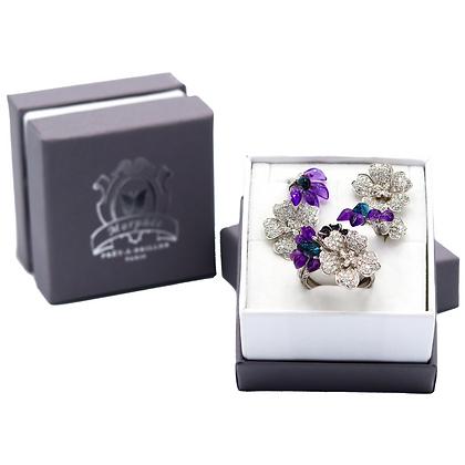 Forget-Me-Not & White Cherry Blossom Gift Set