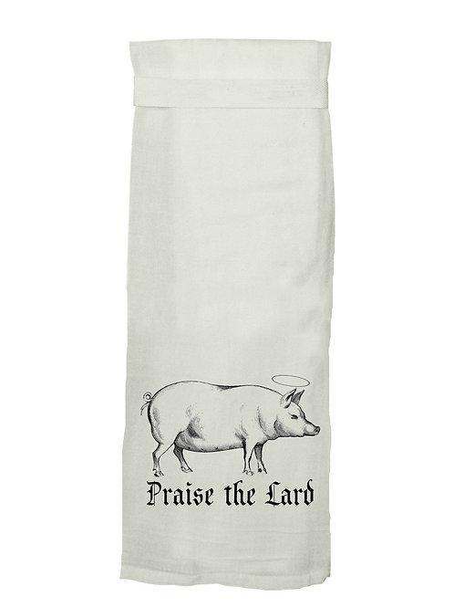 Praise the Lard - Tea Towel