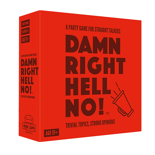 Damn Right Hell No! Board Game