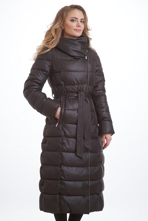 зимнее женское пальто Scanndi finland DW1836 (черный)