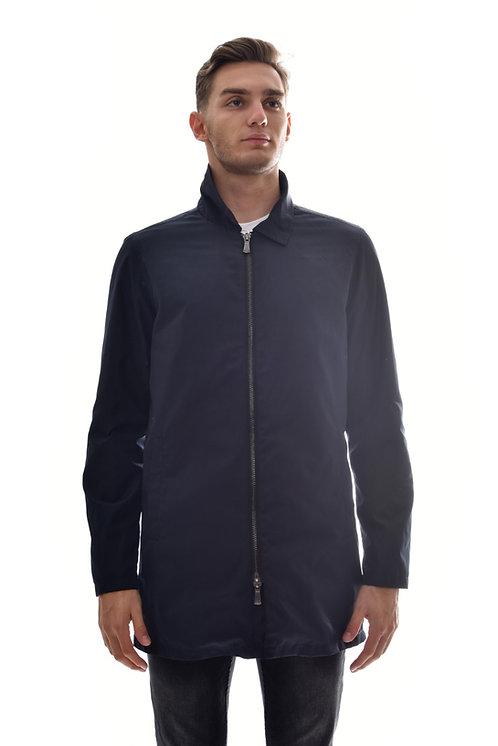 Мужская весенняя хлопковая куртка, бомбер Scanndi Finland BM2959 (темно синий)