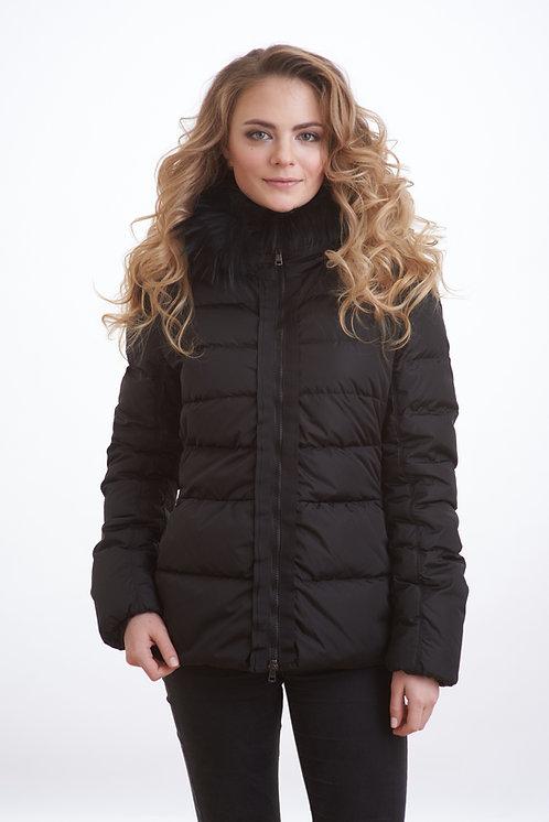 зимняя женская куртка, пальто Scanndi finland DW1827 (черный)