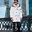 Мужское зимнее пальто-пуховик Scanndi finland DM19023 (белый))