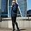 Женская зимняя куртка Scanndi finland DW19136 (темно-синий)