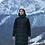 Теплый женский пуховик Scanndi Finland DW19138 (черный)