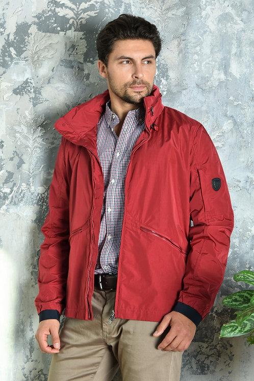 Мужская весенняя хлопковая куртка, бомбер Scanndi Finland BM29051 (красный)