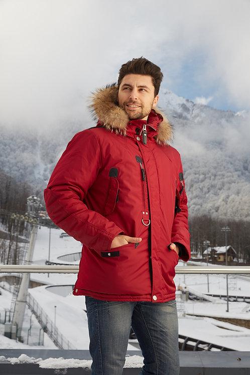 зимняя мужская куртка, аляска Scanndi finland DM1898a