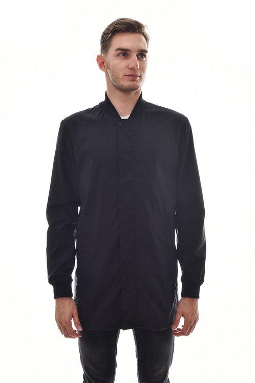 Мужская весенняя хлопковая куртка, бомбер Scanndi Finland BM29073 (темно-синий)