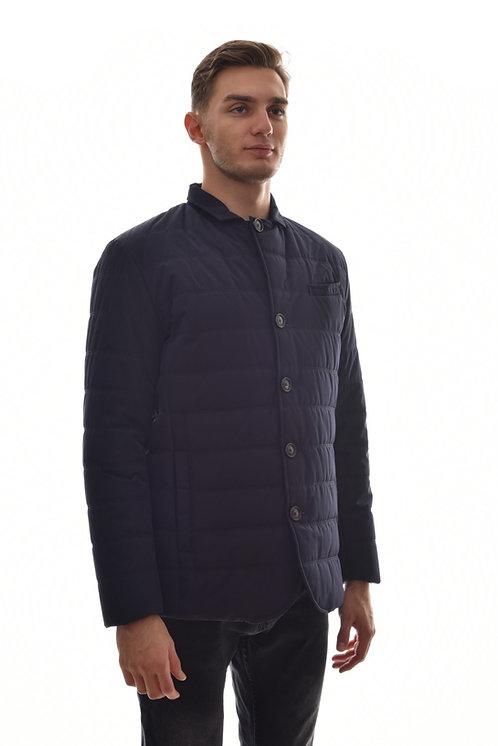Хлопковая мужская весенняякуртка, бомбер Scanndi Finland CM29041 (темно синий)