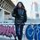 Женская зимняя куртка Scanndi finland DW19064 (черный)