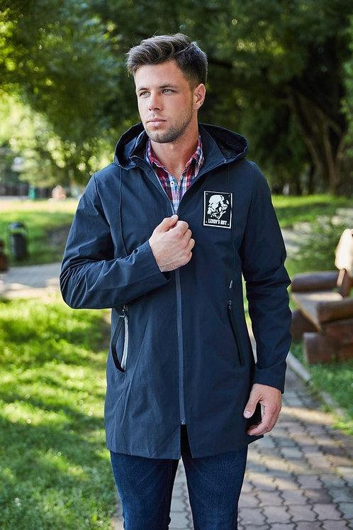 Мужская осенняя финская куртка Scanndi finland BM2859b темно-синий