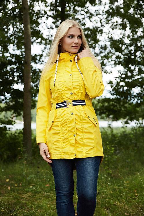 Женская осенняя финская куртка,парка Scanndi finland BW2880 (желтый)
