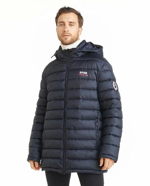 Мужская зимняя финская куртка Scanndi finland DM2027 (темно-синий)