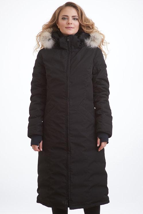зимняя женская куртка, парка Scanndi finland DW1832 (черный)