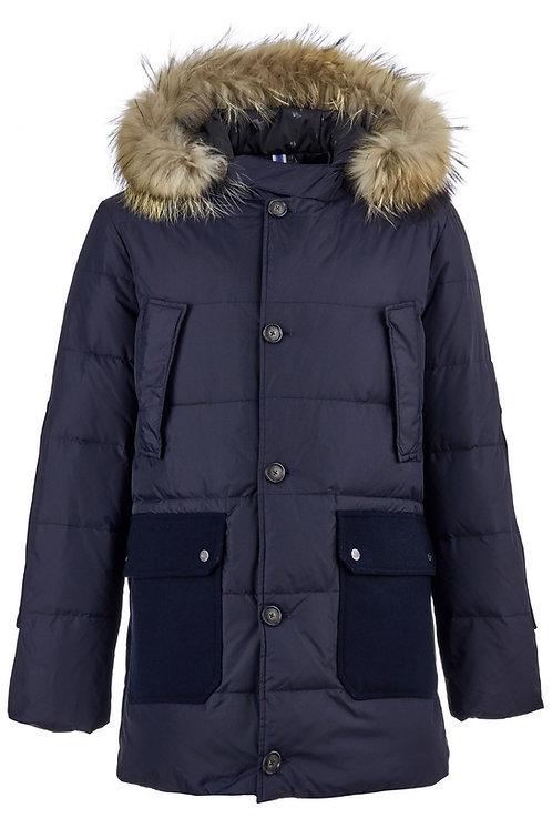 Классическая мужская куртка Scanndi finland DM19007 (темно-синий)