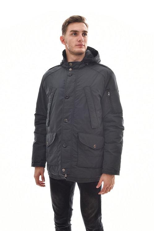 Мужская весенняя хлопковая куртка, бомбер Scanndi Finland CM29011 (тундра)