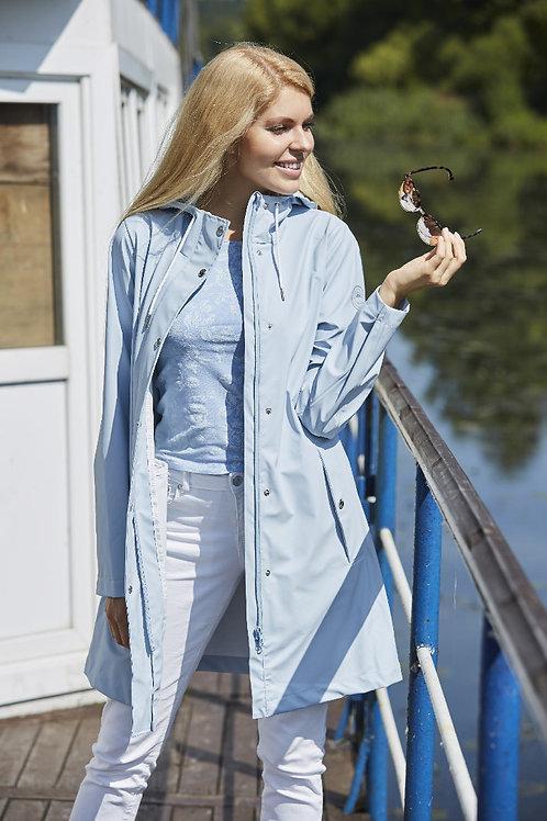 Куртка-плащ Scanndi finland PW29049 (голубой)
