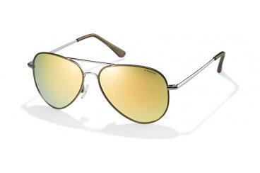 Солнцезащитные унисекс очки Polaroid в металлическойоправе
