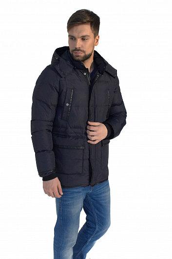 Зимняя мужская финская куртка Scanndi Finland DM19005 черный