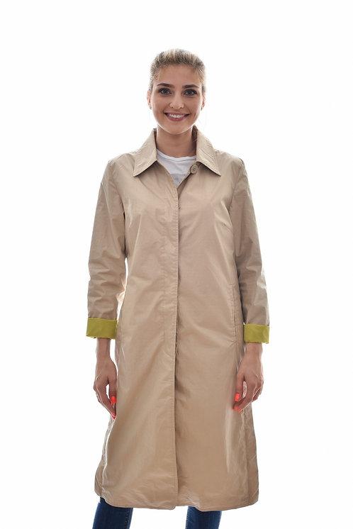 Женская весенняя хлопковая куртка, бомбер Scanndi Finland BW29004 (бежевый)
