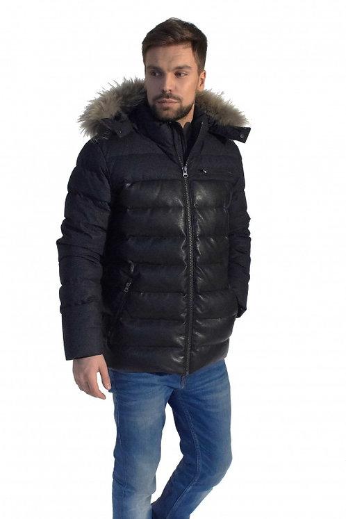 Куртка Scanndi finland DM19141 (черный с мехом)