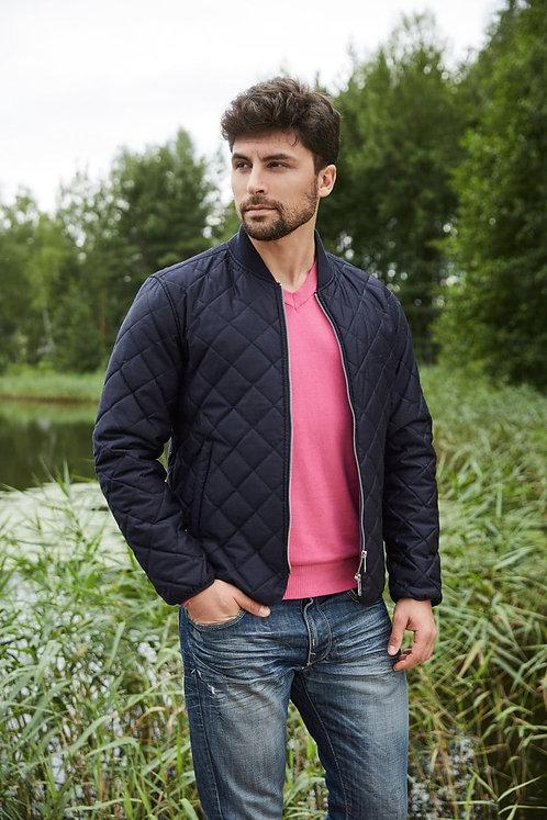 Мужская осенняя финская куртка Scanndi finland CM2863 темно-синий
